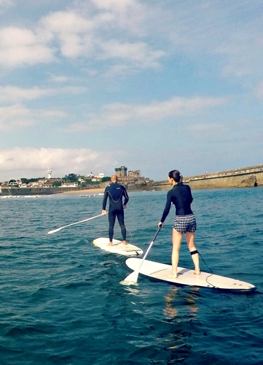 Stand up paddle à Socoa