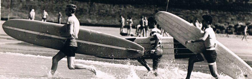 Histoire Du Surf Au Pays Basque Berceau Du Surf Européen